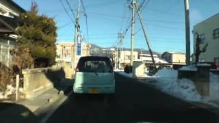 塩尻西小学校〜塩尻インター(2015年2月3日)