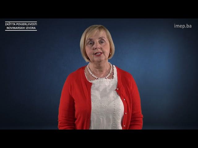 TUTORIJAL: Borka Rudić - Zaštita povjerljivosti novinarskih izvora