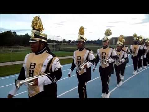 Bogalusa High School Marching Band 2014 Marching IN & OUT @ West St.John