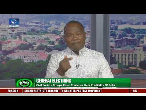 Civil Society Groups Concerned Over Credibiilty Of 2019 Polls