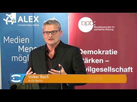 Volker Bach | Vom Offenen Kanal zu ALEX