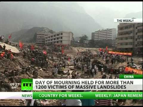 China mourns 1200 killed in deadly Zhouqu mudslides