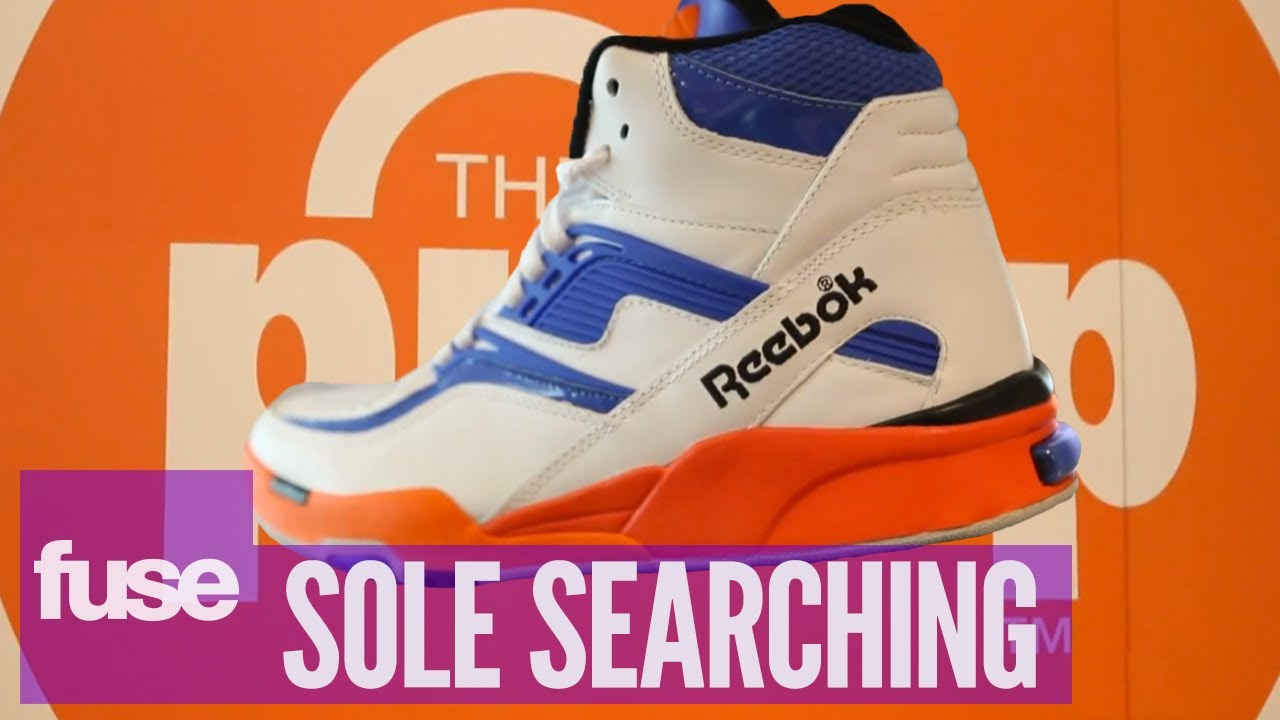 reebok pump shoes history