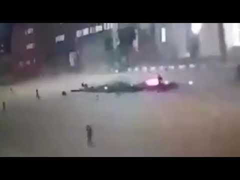 Ракетный удар по военной академии Аль-Хадба в столице Ливии – Триполи