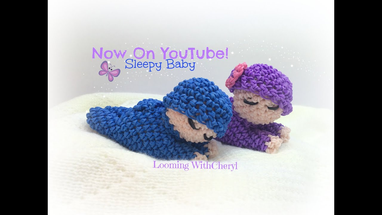 Rainbow Loom Sleepy Baby Doll Loomigurumi Amigurumi Hook