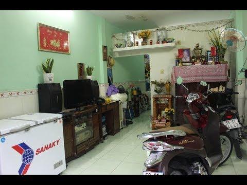 Nhà nát hẻm 30 đường Trường Sa phường 17 quận Bình Thạnh   Gần cầu Thị Nghè
