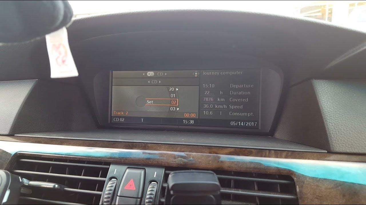 Radio Repair I Drive Ccc Bmw E60 535d Moto Uk Youtube
