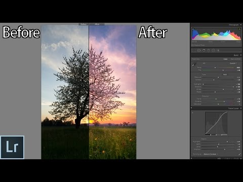 How to Edit Sunset Photos in Lightroom From Start to Finish - Landscape Photography Editing Tutorial