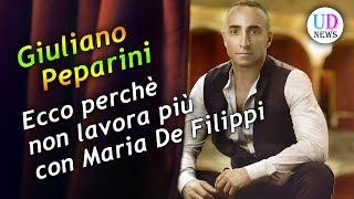 Giuliano peparini non è più il direttore artistico del talent show amici. l'uomo in un'intervista ha spiegato per quale motivo lavora con maria de fi...