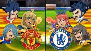 [Full HD 1080P] Inazuma Eleven Premier League ~ Manchester United vs Chelsea ※Pokemon Anchor※