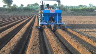 Automatic Potato Planter On My Farm