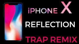 """Enjoy the trap remix of iphone x default ringtone """"reflection download link: http://smarturl.it/iphonextrapremixd"""