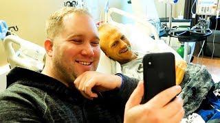 Officer Daniels Surprises Deputy in Hospital