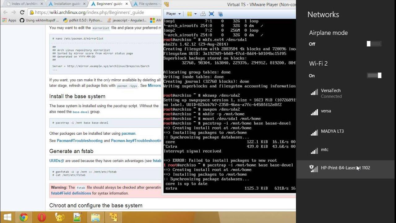 arch linux setup vmware youtube rh youtube com arch linux beginners guide reddit arch linux beginners guide portugues