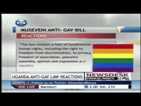 Different reactions to Uganda's controversial gay laws