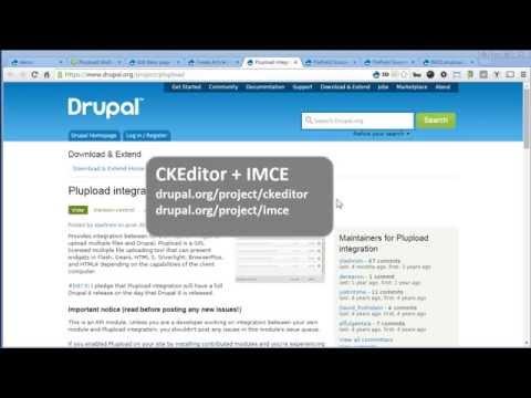 Plupload | Drupal 7 - Multiple File Upload For File Field + IMCE