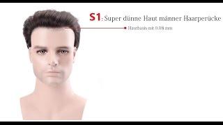 S1 Stock: Super dünne Haut Haar-System | Lordhair
