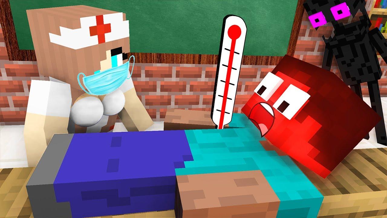 Download Monster School : BABY MONSTERS HEROBRINE STORY CHALLENGE ALL EPISODE - Minecraft Animation