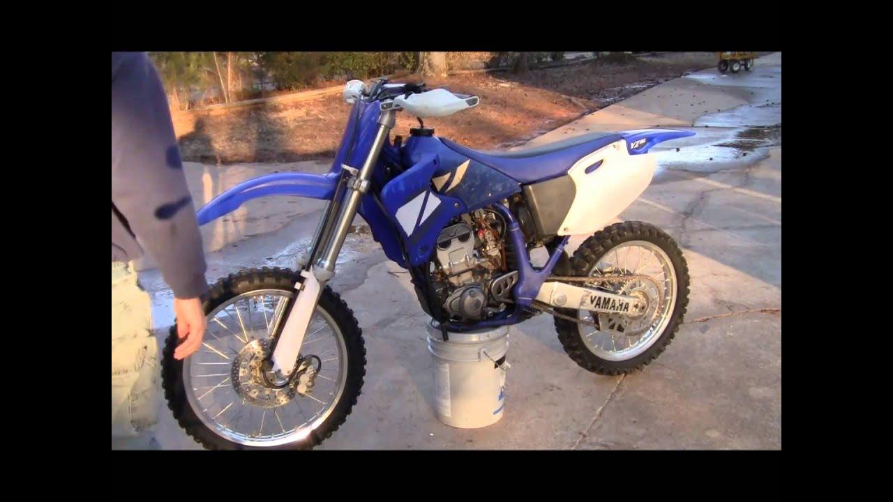 2001 Yamaha Yz250f Idle  U0026 Rev