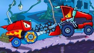 Хищные машины Машина ест машину Car Eats Car #14 мультик игра про гонки МАШИНКИ КИДА