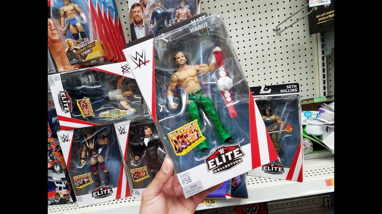5 Dollar Toys : Dollar wwe figures toy hunt youtube