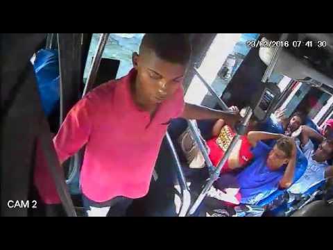 Assalto a ônibus linha Maruim dia 23/02/2016