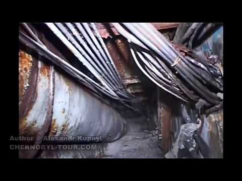 Pripyat. Inside the Chernobyl Nuclear Power Plant's shelter/sarcophagus.