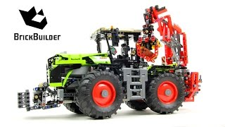 Lego Technic 42054 CLAAS XERION 5000 TRAC VC - Lego Speed build