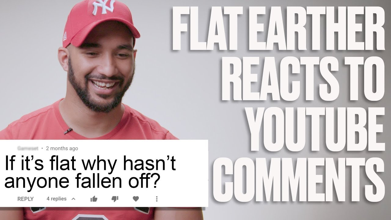 Flat Earther Reacts To Internet Trolls | LADbible