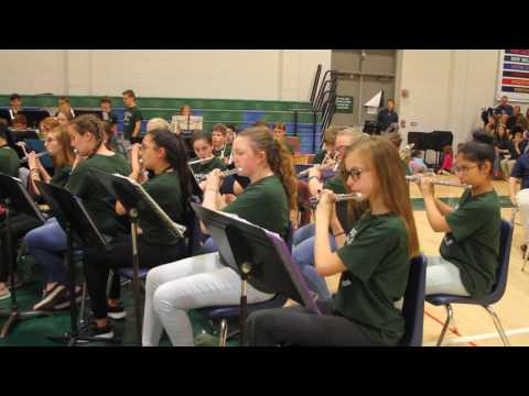 Schaghticoke Middle School at Big Band Bash 2017