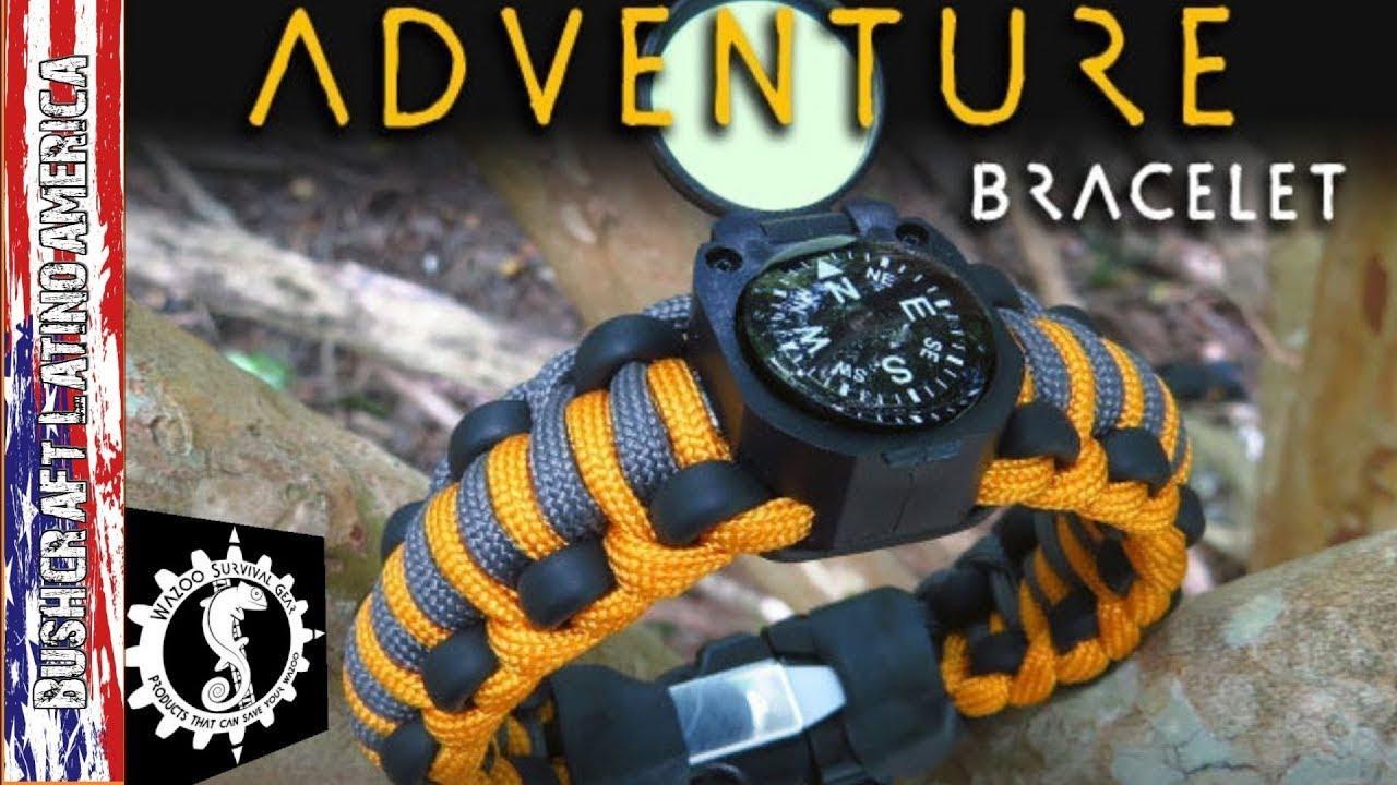 Wazoo Survival Bracelet English Version
