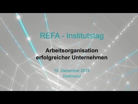 REFA-Institut: Mit Humanorientiertem Produktivitätsmanagement zum Unternehmenserfolg