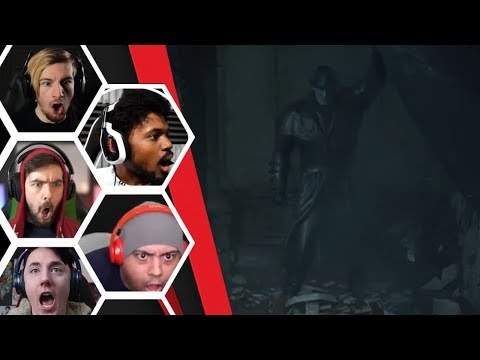 Lets Players Reaction To Their First Encounter With The Tyrant/Mr X | Resident Evil 2 Remake