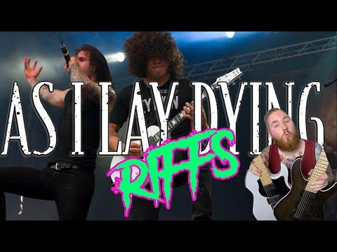 As I Lay Dying Metalcore Kings Guitar Riffs Drop C Jamie Slays FGN Guitars