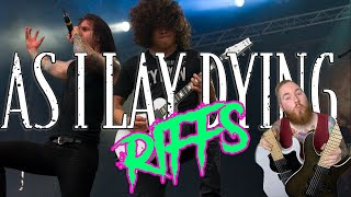 As I Lay Dying Metalcore Kings Guitar Riffs Drop C Jamie Slays FGN Guitars