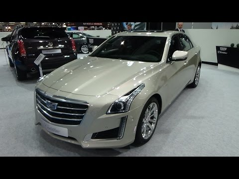 2016 - Cadillac CTS Sedan AWD - Exterior and Interior - Zürich Car Show 2015