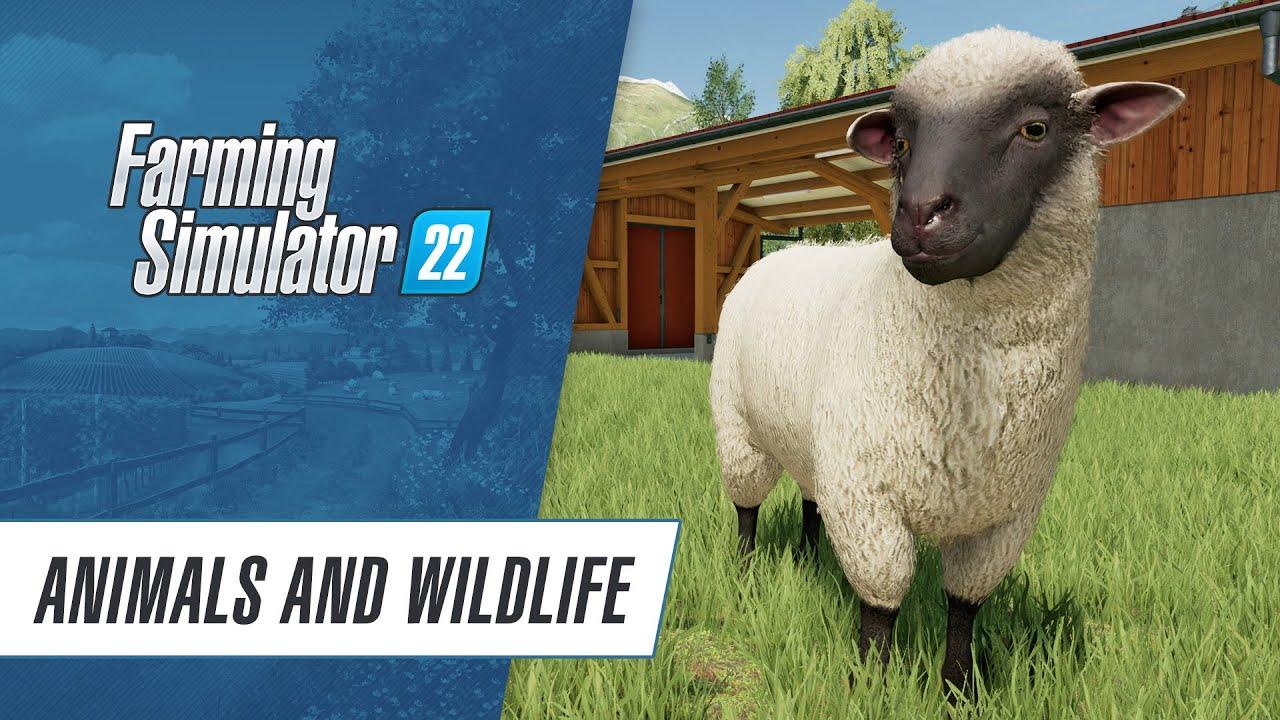 🐮 Animals & Wildlife in Farming Simulator 22