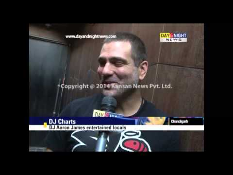 DJ Aaron James entertained in Chandigarh | Interview
