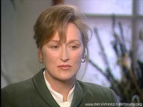 Meryl Streep - Out of Africa Interview (1997)