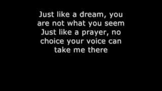 Madonna like a prayer with lyrics