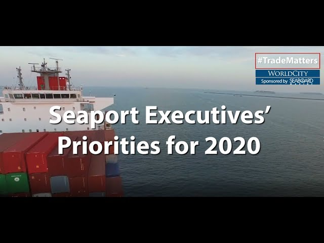 Top Seaport Executives Talk Priorities for 2020