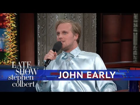 John Early Sings Britney Spears Christmas Music