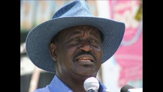 I will ensure oil benefit Turkana -Raila Odinga