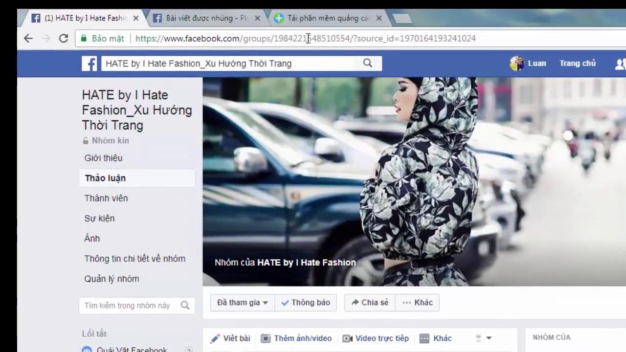 Hướng dẫn cách chia sẻ bài viết vào nhiều nhóm trên Facebook, Group Tự Động bằng Fplus  2018