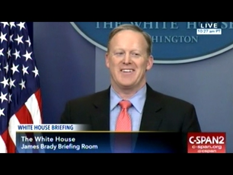 Sean Spicer Updates Press On Supreme Court Pick During Anoth