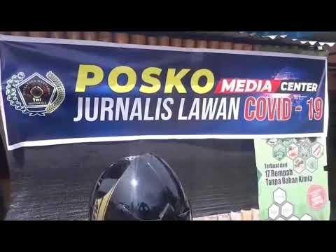 Persatuan Wartawan Indonesia (PWI) Lingga Donasikan Gaji Perangi Covid-19