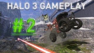 Halo 3 Gameplay - Big Team Battle on Valhalla - W/Commentary