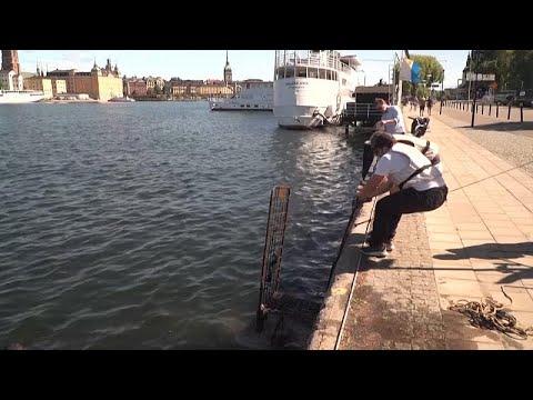 شاهد: غواصون متطوعون ينتشلون المخلفات المتراكمة في مياه ستوكهولم…  - نشر قبل 2 ساعة