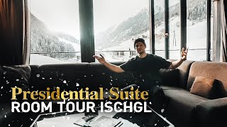 Presidential Suite Room Tour in Ischgl!