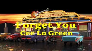 Forget You - Cee Lo Green | Lyrics Video (Clean Version)
